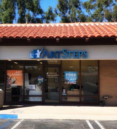 Laguna Hills Studio :: Art Steps
